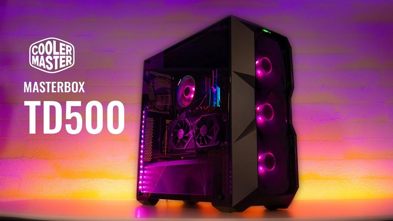 نتيجة بحث الصور عن TD500L-Case Cooler Master TD500L RGB