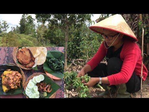 masakan-desa|cooking-and-fry-shrimp-eating-delicious-udang-asap-dan-udang-sambal