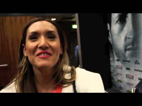 MICHELLE JOY PHELPS REACTS TO CARL FROCH'S KNOCKOUT OVER ...