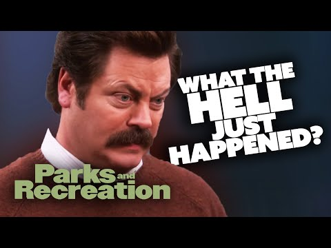 What The Hell Just Happened? - Parks and Recreation   Comedy Bites