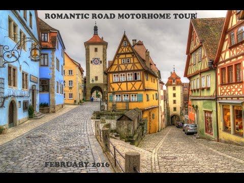 Romantic Road Motorhome Tour - Germany - February 2016