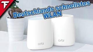 Das schnellste WLAN ❓ NETGEAR Orbi Mesh Wifi