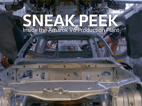 The Amarok V6 in the making