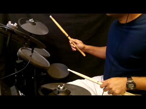 Yamaha DTX400k Drums - Zara Sa Power Ballad -Kratos612