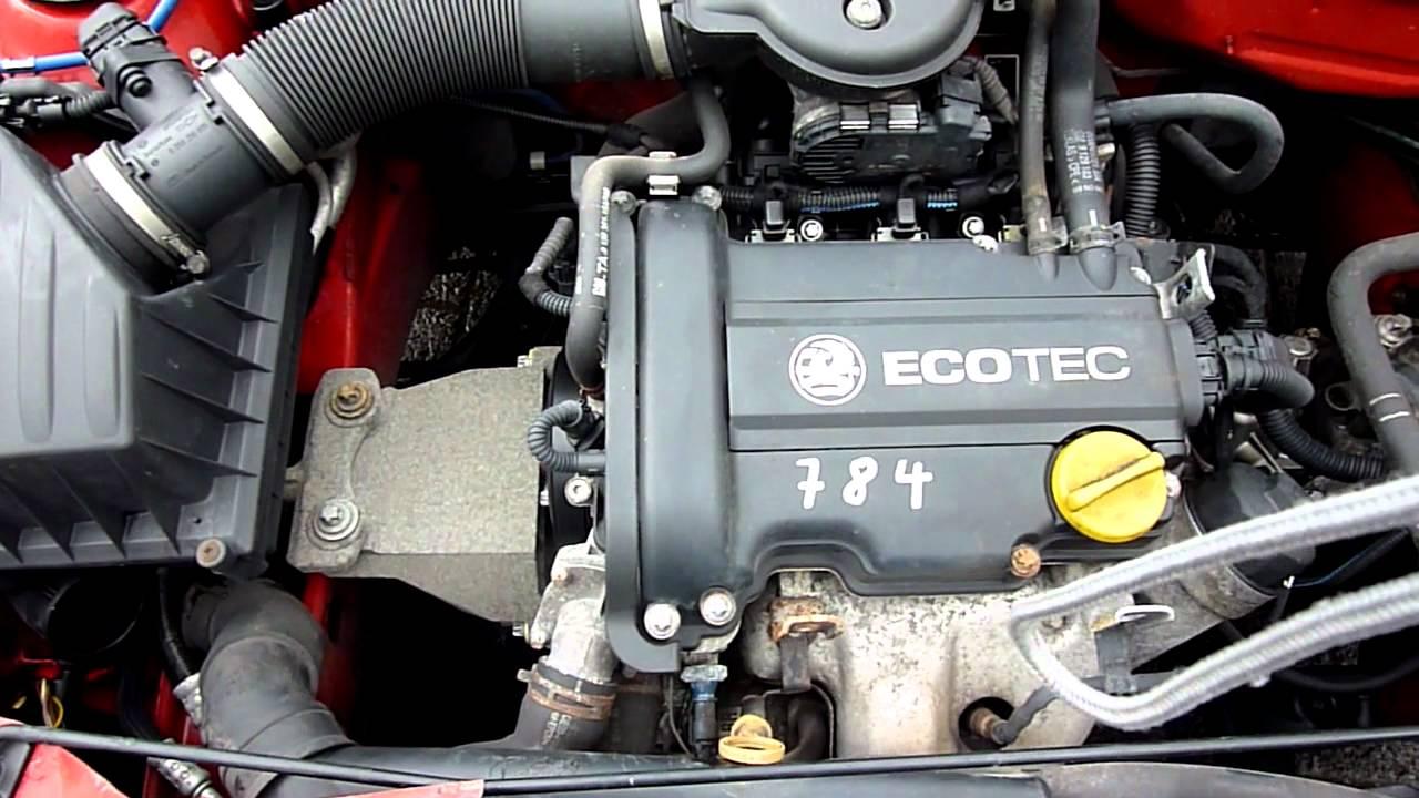 Opel Corsa C Z10XE  YouTube