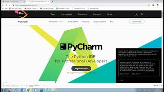 Install Python & Python IDE/Code Editor(Pycharm) on Windows/Mac/Ubuntu - Python tutorial | Team MAST