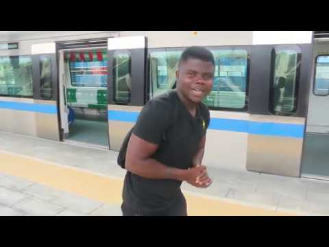 Light Rail Train In Abuja Nigeria