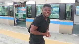 Light Rail Train In Abuja Nigeria