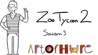# 24 - Enfin ils déambulent ?   Zoo Tycoon 2 - Saison 3 - ArtOfHure