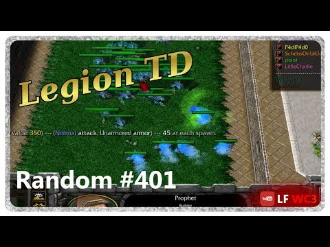 Legion TD Random #401 | How Good Is 250 Value Aqua On Level 2?