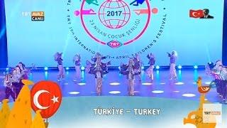 Türkiye - TRT 39. Uluslararası 23 Nisan Çocuk Şenliği - Nevşehir - TRT Avaz