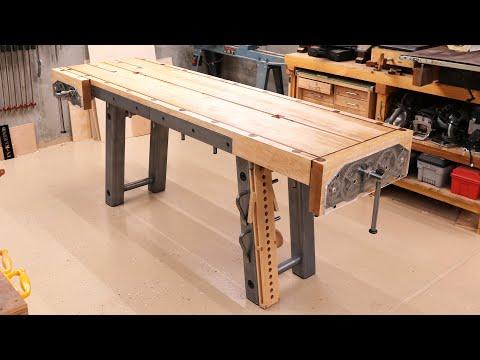 Metal Base Workbench Complete Build