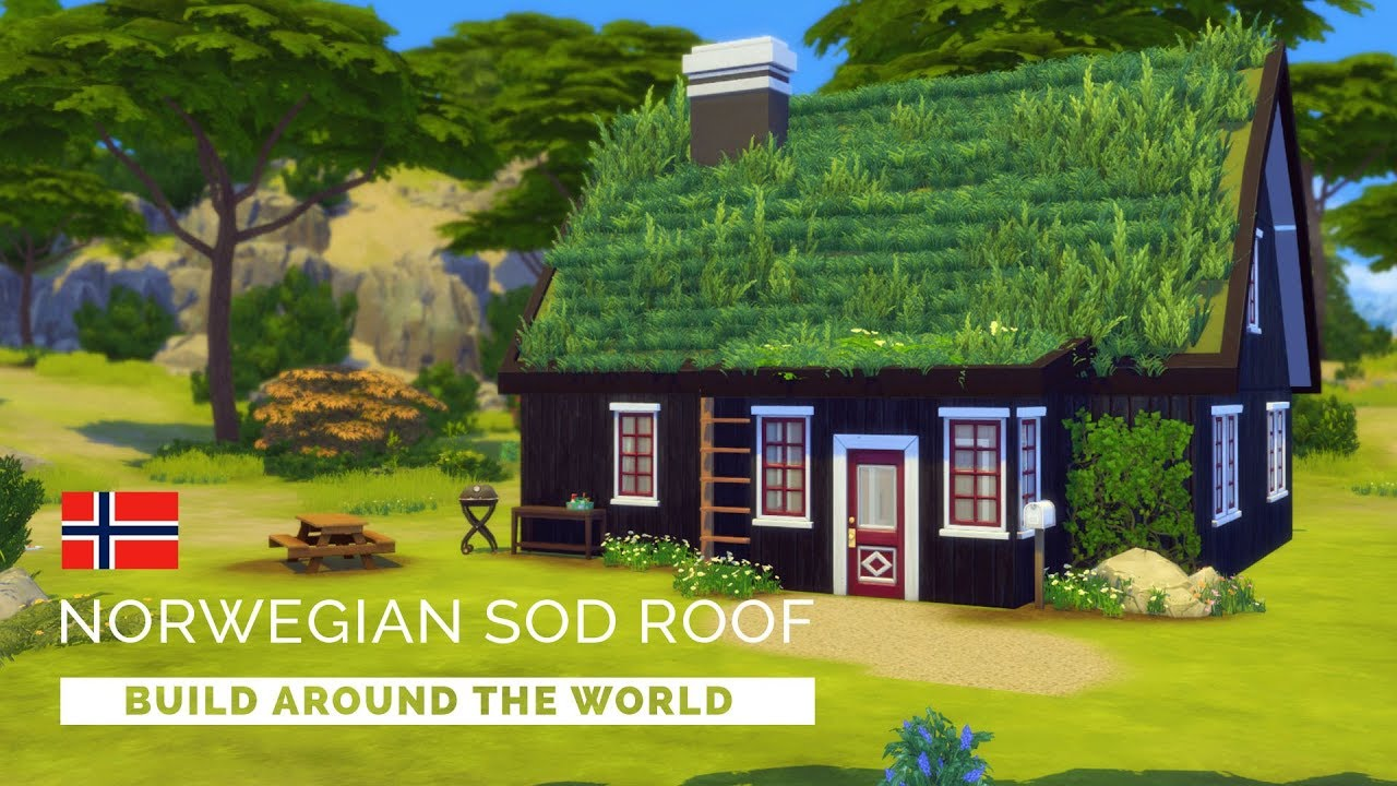 Sims  How To Build A Roof