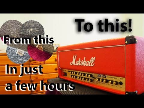 How to make your amplifier look like a brand new custom shop job : tonymckenziecom