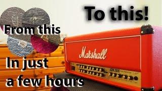How to make your amplifier look like a brand new custom shop job : tonymckenziecom