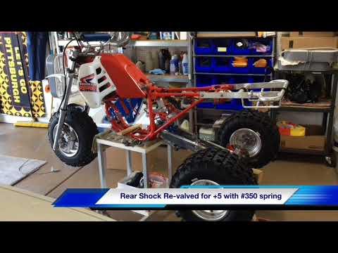 Honda ATC 250R Rebuild