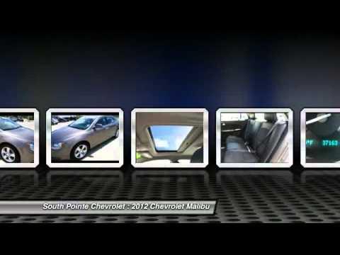 2012 Chevrolet Malibu At South Pointe Chevrolet In Tulsa CF317331