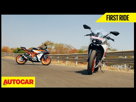 2017 KTM RC 200 & RC 390 | First Ride | Autocar India