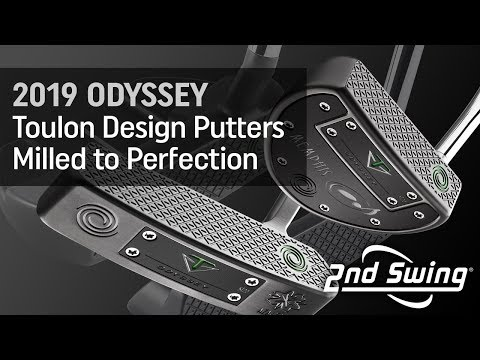 2019 Odyssey Toulon Design Putters: Milled To Perfection
