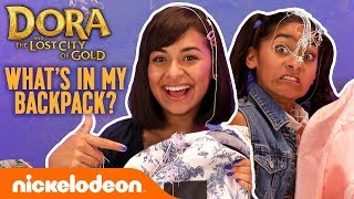 What's in the GEM Sisters' BACKPACKS?! 🎒 Dora and the Lost City of Gold | Nick