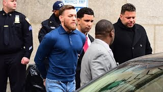 Conor McGregor bus incident @hodgetwins