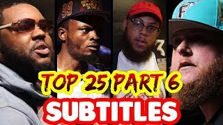 Top 25 Bars That Will NEVER Be Forgotten PART 6 SUBTITLES | ALL LEAGUES Masked Inasense