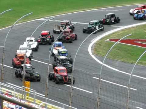 Charlotte motor speedway legends car flips youtube for Speedway motors used cars