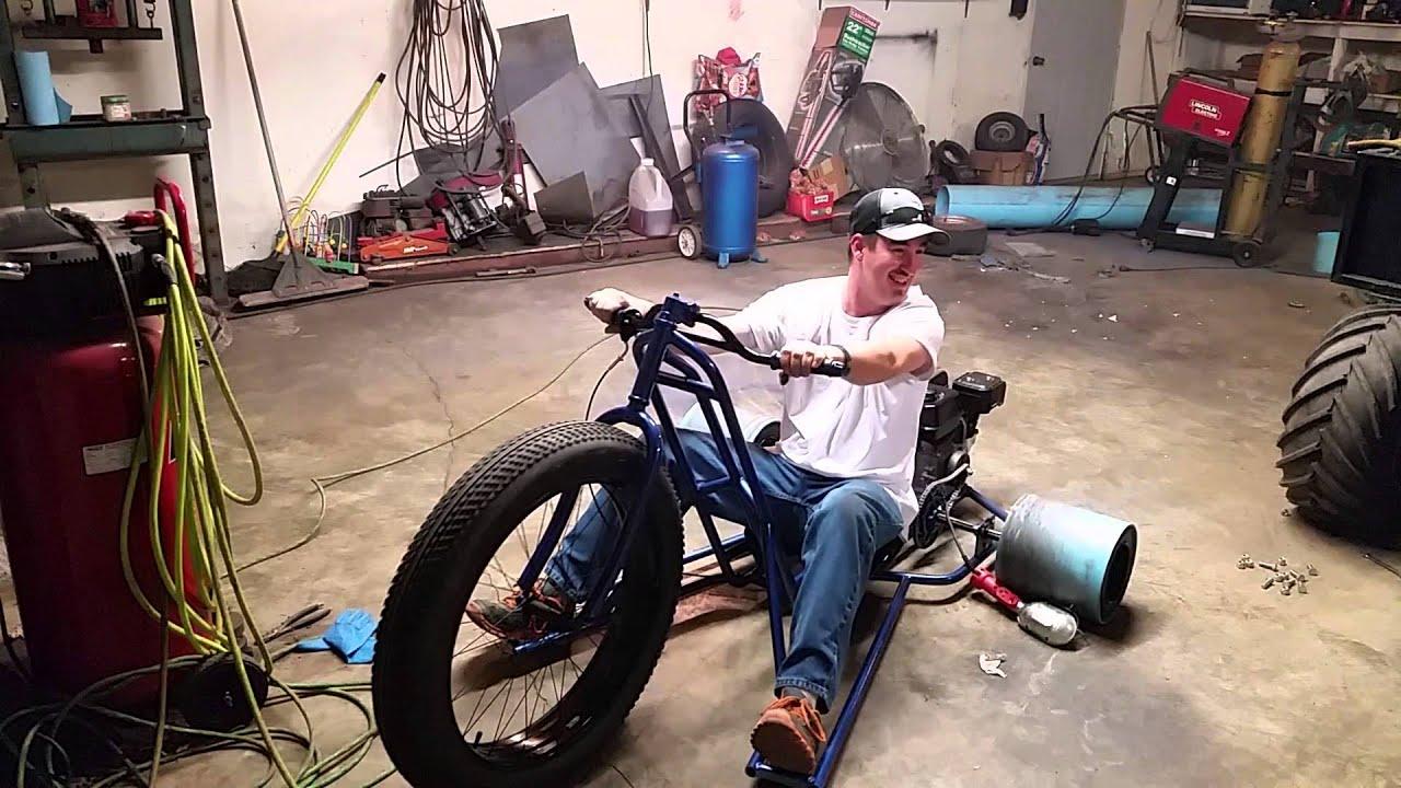 motorized drift trike shop test youtube