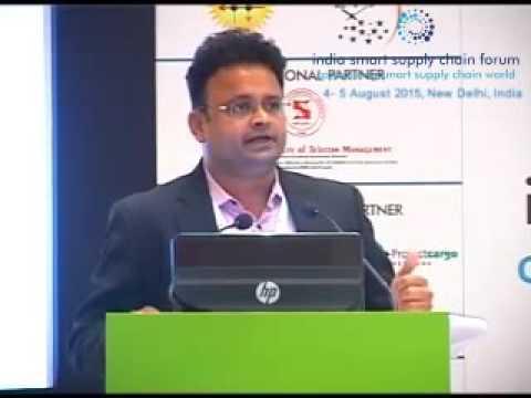 Supply Chain in Pharma using IoT: Mr Anil Shetty - Director, Marken