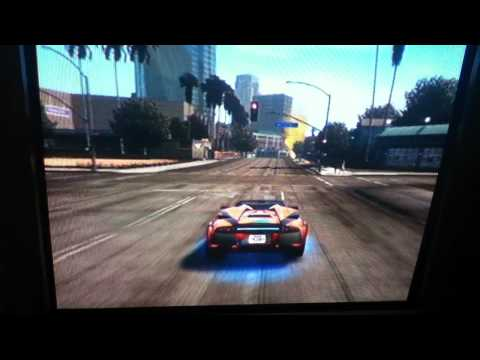 midnight club los angeles racing and crazy crashes