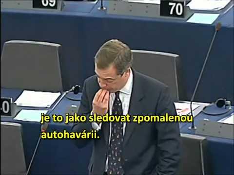 Nigel Farage: Chyceni v ekonomicke pasti (Trapped inside EU)