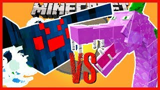 minecraft-spiderzilla-vs-spikezilla-and-other-mobs-from-the-mythical-creatures-mod