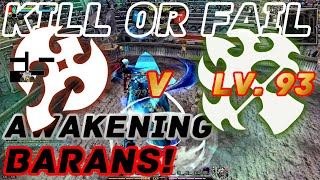 Dragon Nest PvP : WindWalker vs Barbarian - Awakening Barans Lv. 93 KDN KOF Mode.