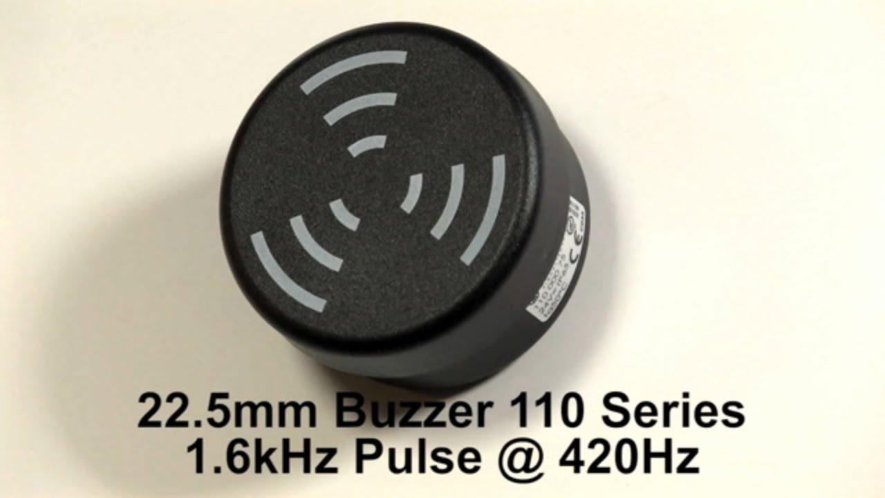 Werma 225mm Buzzer 110 Series With 8 Tones Youtube Electronic Circuit Diagram