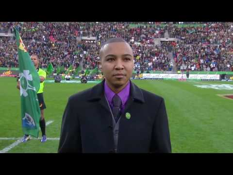 National anthems South Africa vs Ireland