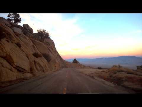 Driving the Sierra Nevada , California