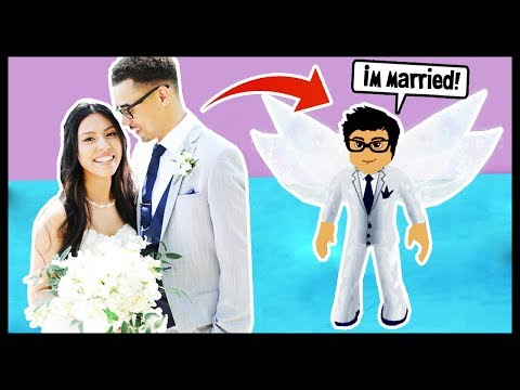 I MARRIED MY PRINCE!  ROBLOX  ROYALE HIGH SCHOOL