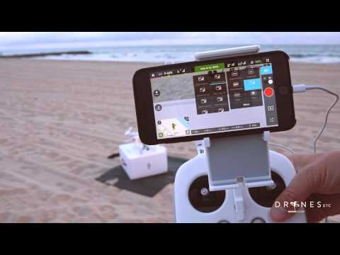 DJI Phantom 3 First Flight and DJI Pilot App Overview HD