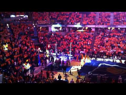 Indiana Pacers 2012-13 Opening Night Introductions
