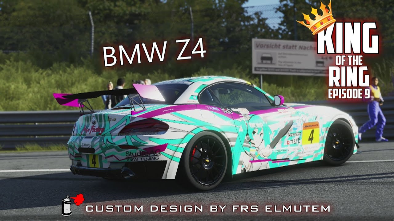Forza 5 Custom Bmw Z4 Hits The N 252 Rburgring King Of The