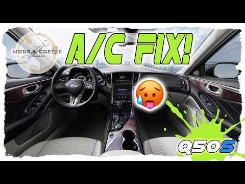 #infiniti #Q50 Blend Door Actuator Replacement : Fixing the drivers side air conditioning Install