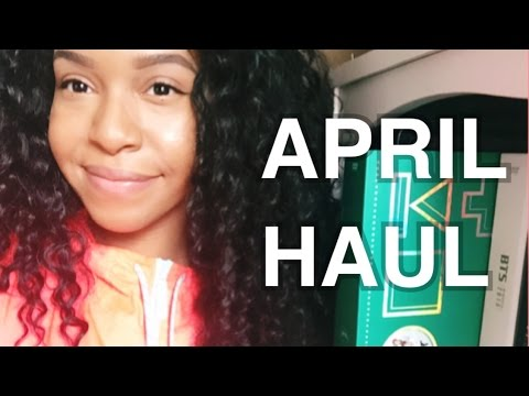 Monthly Kpop Haul - April | BTS and MORE GIRL GROUPS!!!