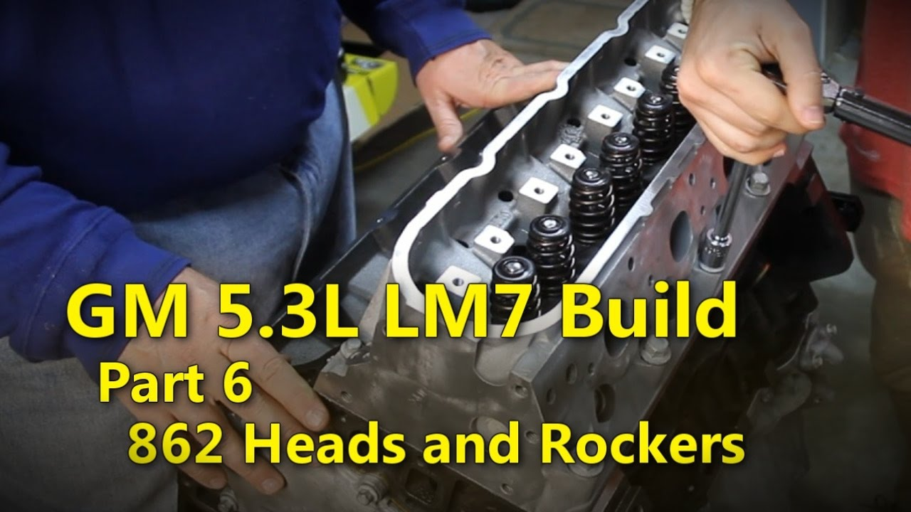 LS 5 3L Build Part 6 862 Heads and Rockers | Project Rowdy Ep010