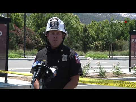 4 Alarme Fire Pechanga Resort Press Conference / Temecula