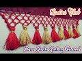 Saree Kuchu/Tassels making video for beginners I New Kuchulu design I Saree gonde design