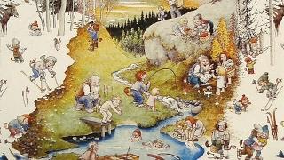 Шведские народные сказки #1 аудиосказка онлайн с картинками слушать