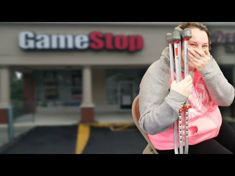 I TOLD HER TO BUY WHATEVER SHE WANTS AT GAMESTOP!