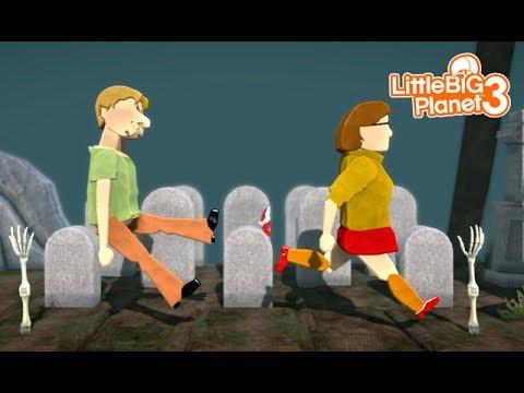 LittleBIGPlanet 3 - Scooby-Doo DEATHRUN - Part 2 [Playstation 4]