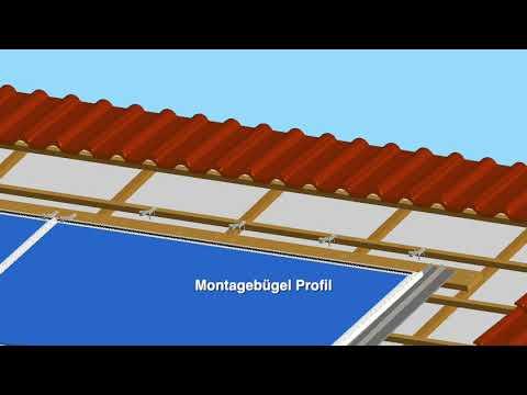 AxSun Solar zeigt Ihnen das Solrif Montagevideo PV-Indachsys