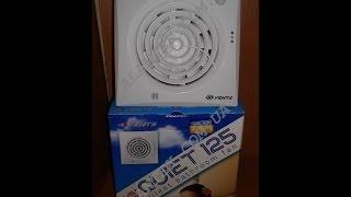 Малошумный вытяжной вентилятор с таймером и датчиком движения Vents Quiet 125 TR(Распаковка малошумного вытяжного вентилятора с таймером задержки отключения и датчиком движения Вентс..., 2017-02-28T08:29:38.000Z)